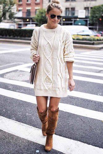 Cozy Dress Outfit Ideas picture 6