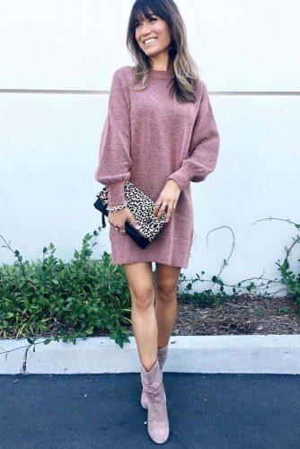 Cozy Dress Outfit Ideas picture 5