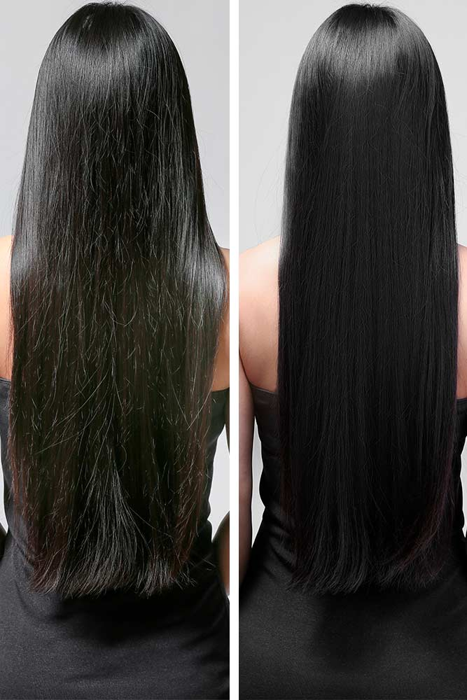 What Hair Treatment Is Best For Damaged Hair? #longhair #brunette