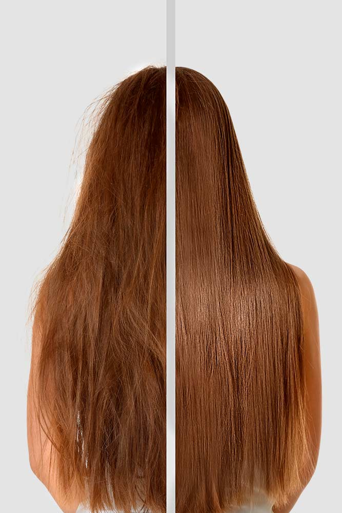 Does Keratin Repair Damaged Hair? #keratincaresystem #hairtreating