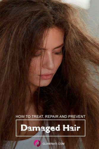 Can Damaged Hair Be Repaired? #hairtreat #haircare