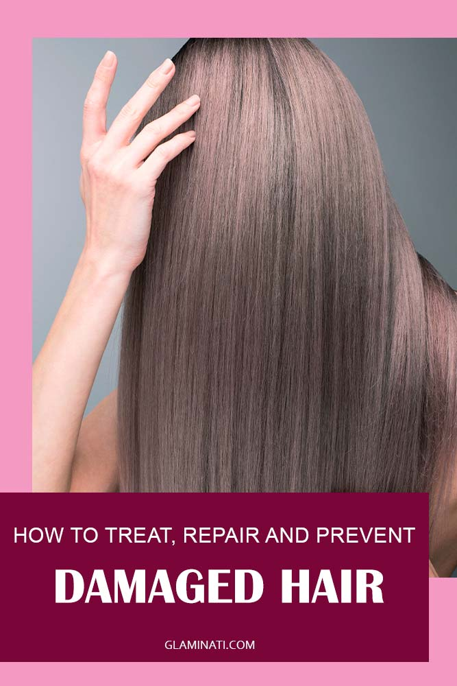 How Can I Repair My Damaged Hair At Home? #glossyhair #healthy