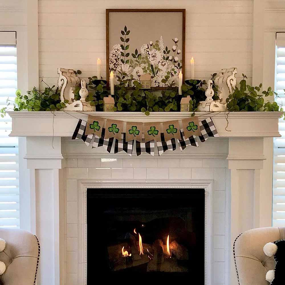 Fireplace Garland #fireplace #garland