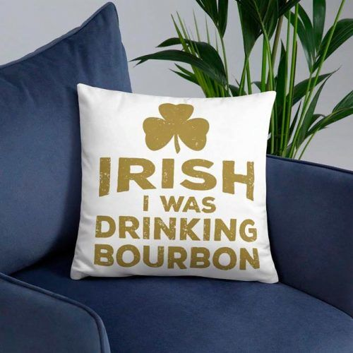 Funny St. Paddys Day Pillow #pillow #homedecor