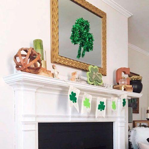 Simple Fireplace Decor #homedecor #fireplacedecor
