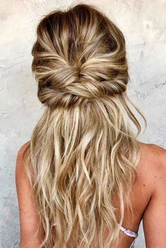 Twisted Hairstyles for Romantic Look picture2