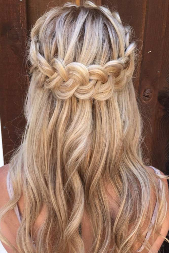 Half-Updo Hairstyles For Long Hair picture2