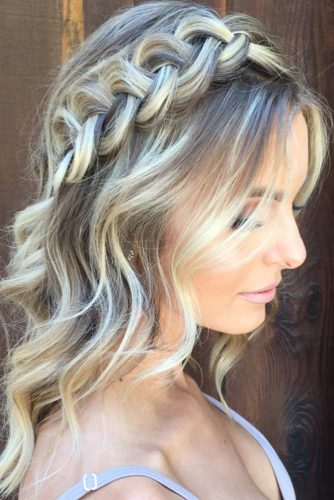 Half-Updo Hairstyles For Medium Hair picture3