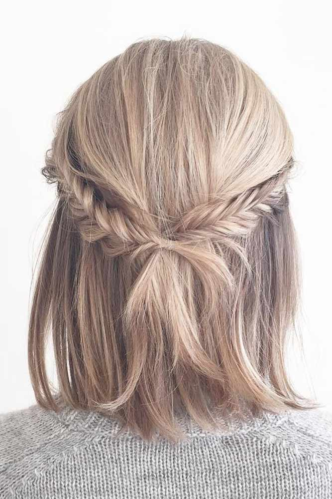 Half-Updo Hairstyles For Medium Hair picture2