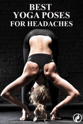 Padangusthasana Help You Get Rid of a Headache
