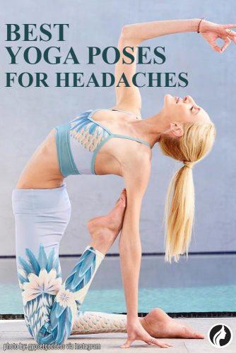 Yoga help get rid of headaches