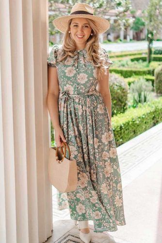 Maxi Floral Dress #maxidress