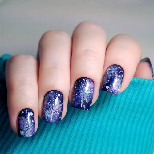 Fantasy Galaxy Nail Art picture4