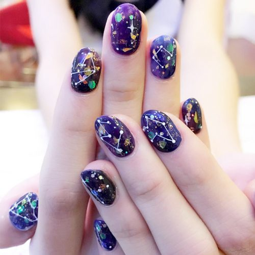 Fantasy Galaxy Nail Art picture5