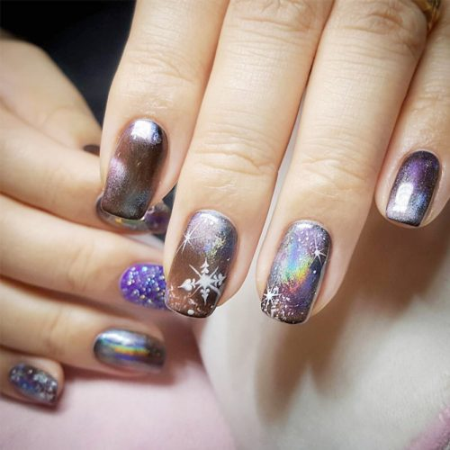 Fantasy Galaxy Nail Art picture6