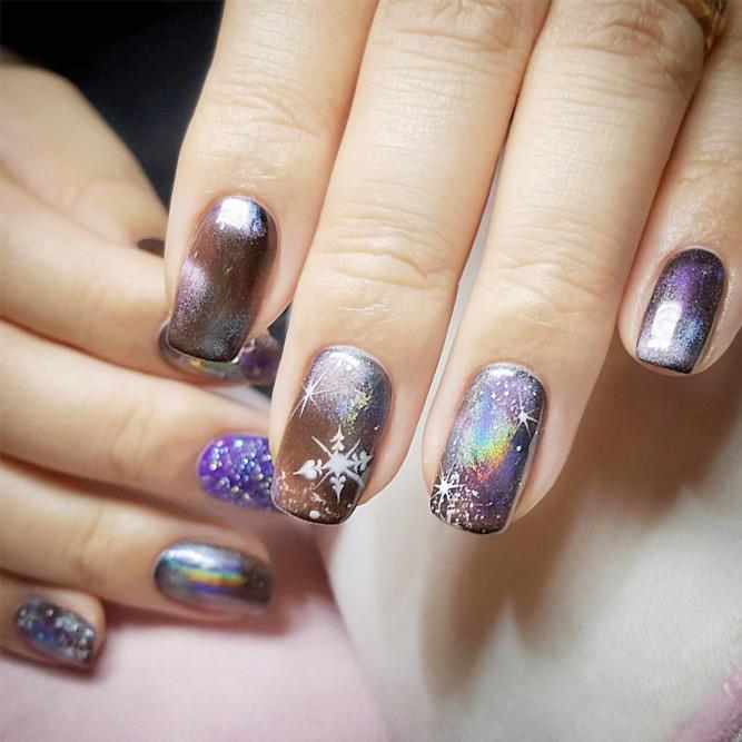 Fantasy Galaxy Nail Art picture6