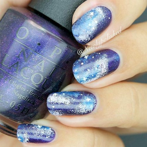 Ideas for Galaxy Nail Designs picture2