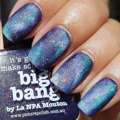Ideas for Galaxy Nail Designs picture1