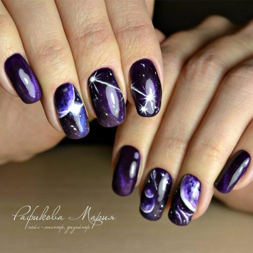So-Pretty Galaxy Nails picture 3