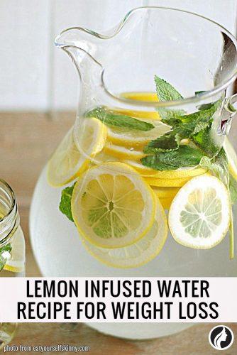 Lemon Infused Water Recipe
