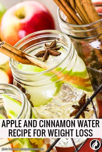 Infused Apple and Cinnamon Water Recipe