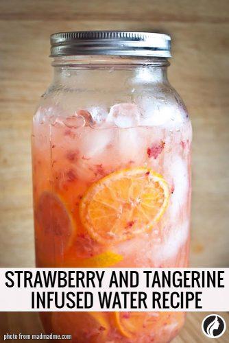 Strawberry and Tangerine Water Recipe