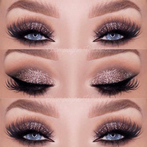 Glitter Makeup Ideas for Blue Eyes picture 1