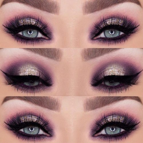 Glitter Makeup Ideas for Blue Eyes picture 3