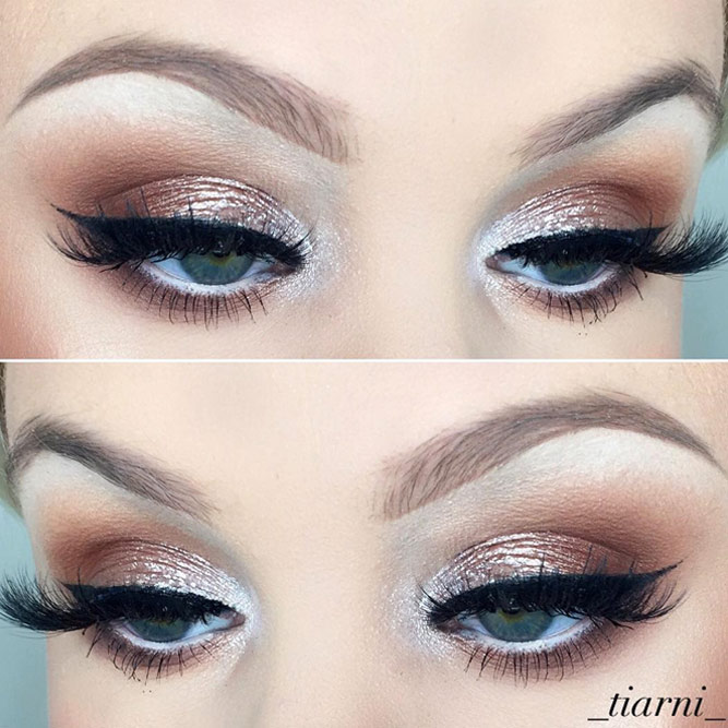 Glitter Makeup Ideas for Blue Eyes picture 4