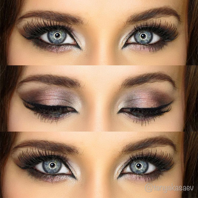 Smokey Makeup for Blue Eyes picture 5