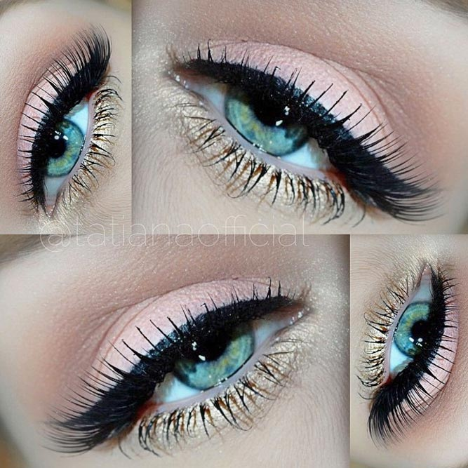 Pretty Makeup Ideas for Blue Eyes picture 1