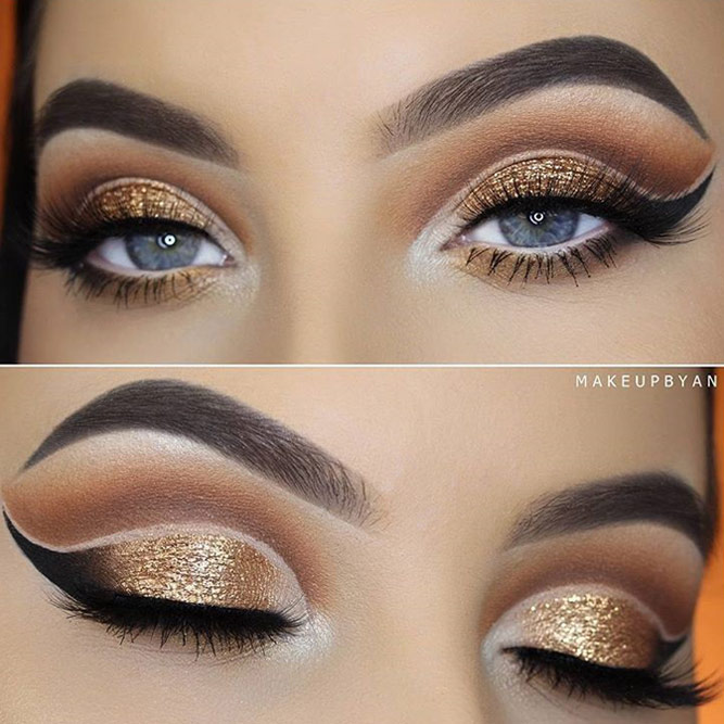 Glitter Makeup Ideas for Blue Eyes picture 6