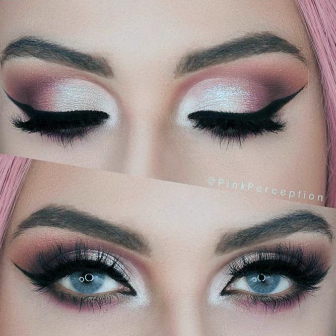 Party Makeup for Blue Eyes picture 1