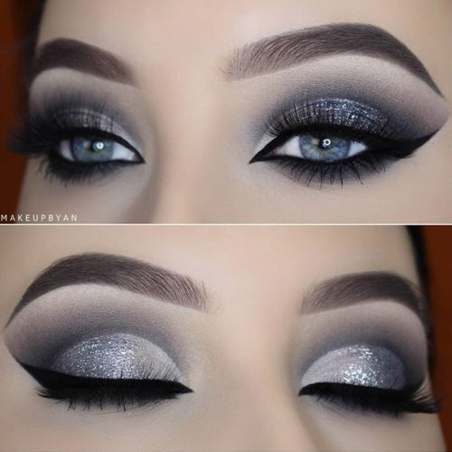 Glitter Makeup Ideas for Blue Eyes picture 5