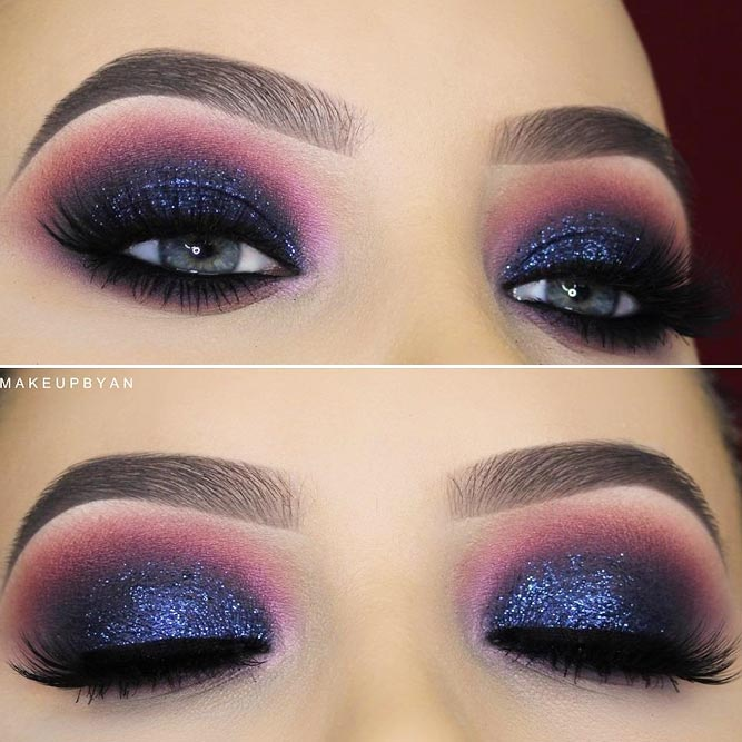 Party Makeup for Blue Eyes picture 3