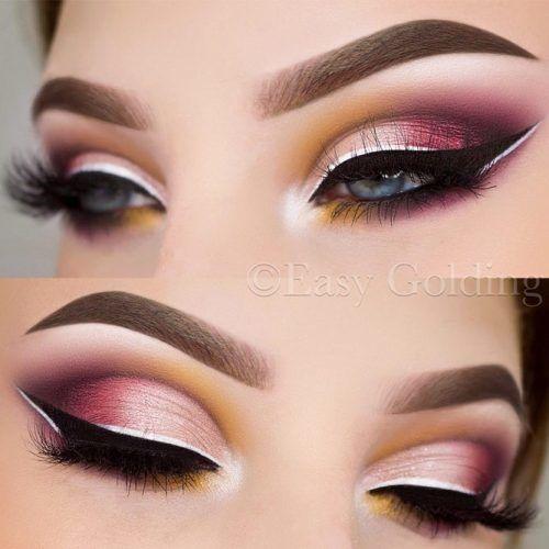 Pink Smokey With Double Eyeliner #smokeyeyes