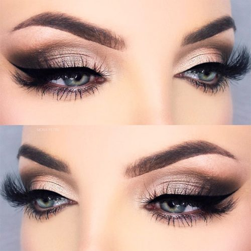 Lovely Makeup Ideas For Blue Eyes picture 6