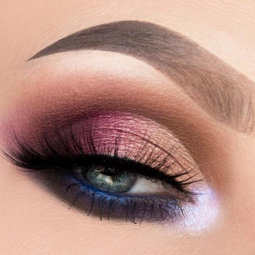 Lovely Makeup Ideas For Blue Eyes picture 2
