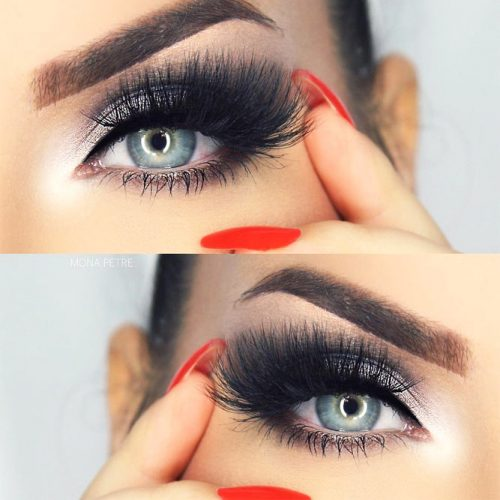Lovely Makeup Ideas For Blue Eyes picture 4