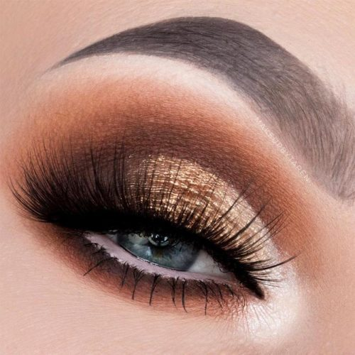 Lovely Makeup Ideas For Blue Eyes picture 1