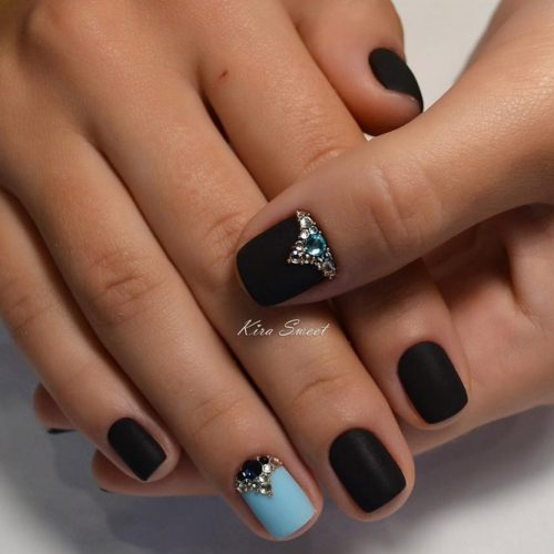 Black & Color Nail Designs picture2