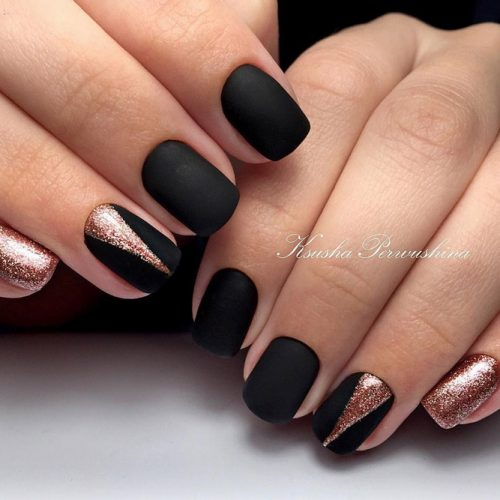 Black & Color Nail Designs picture 6