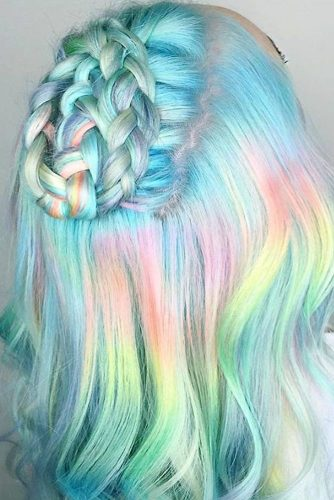 Pastel Braided Hairstyles picture3