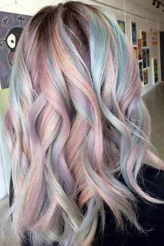 Pastel Wavy Hair picture3