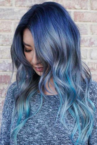 Pastel Hair with Blue Locks picture1
