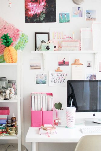 15 Useful Tips To Organize Your Home Office Desk Space