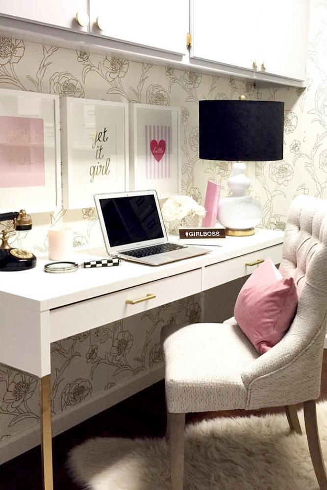 Revamp a Cheap Desk with Fake Marble Vinyl