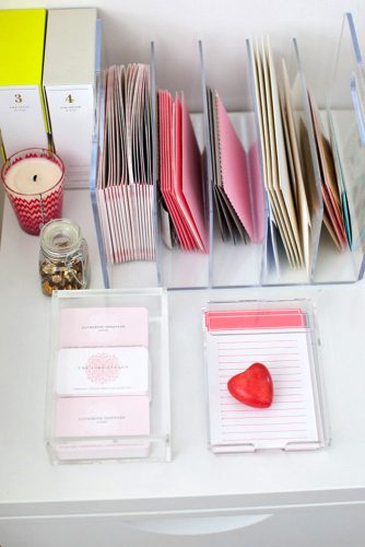 Jazzy Letter Holders