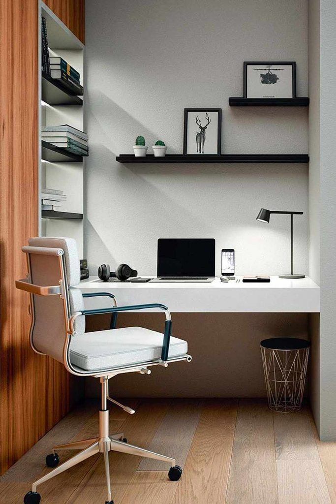 Classy Style Home Office