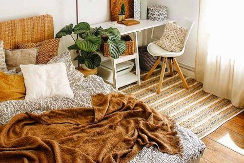 Bohemian Bedroom Decoration Ideas